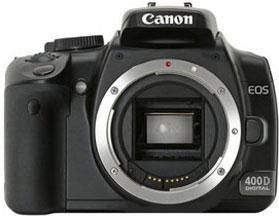 Фотоаппарат Canon EOS 400D Body | black